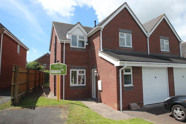 Thumbnail Semi-detached house for sale in Donnington Wood Workshops, Bradley Road, Donnington Wood, Telford