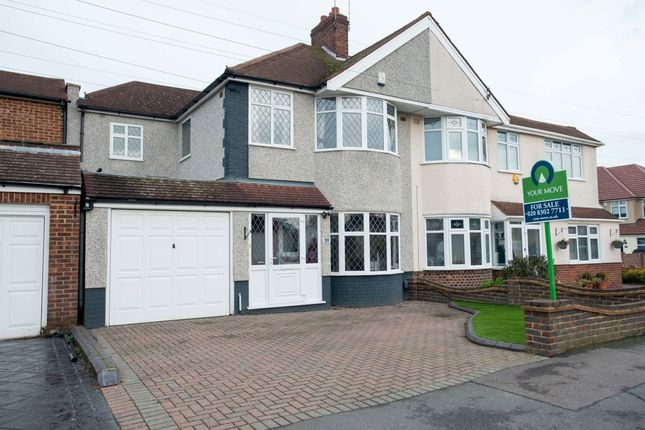 Thumbnail Semi-detached house for sale in Steynton Avenue, Bexley