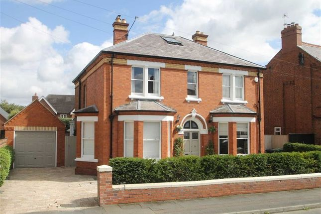 Thumbnail Detached house for sale in North Hermitage, Belle Vue, Shrewsbury
