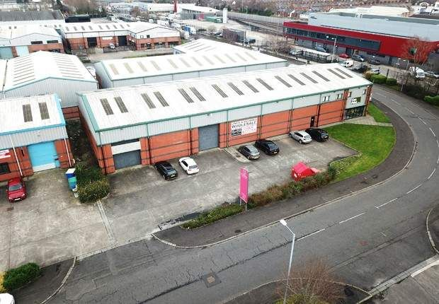 Thumbnail Warehouse for sale in Falcon Road, Belfast, County Antrim
