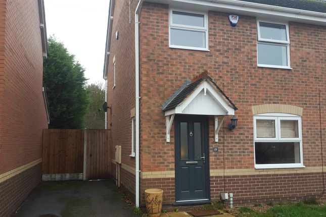 Thumbnail Semi-detached house to rent in Lonsdale Drive, Toton, Nottingham