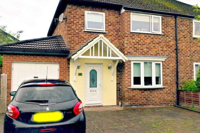 Thumbnail Semi-detached house to rent in Greystone Road, Great Boughton, Chester