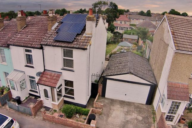 2 bed end terrace house for sale in New Road, South Darenth, Dartford