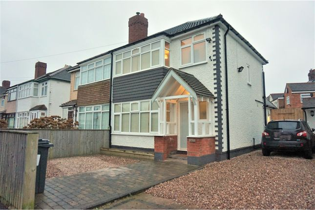 Thumbnail Semi-detached house for sale in George Frederick Road, Sutton Coldfield