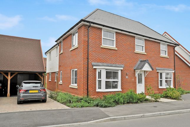 Thumbnail Detached house to rent in Wheatfields, Aldington, Ashford, Kent