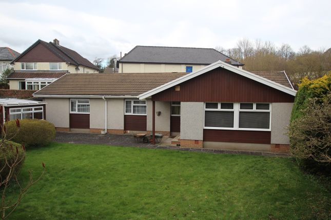 Thumbnail Detached bungalow for sale in Cerrigcochion Road, Brecon