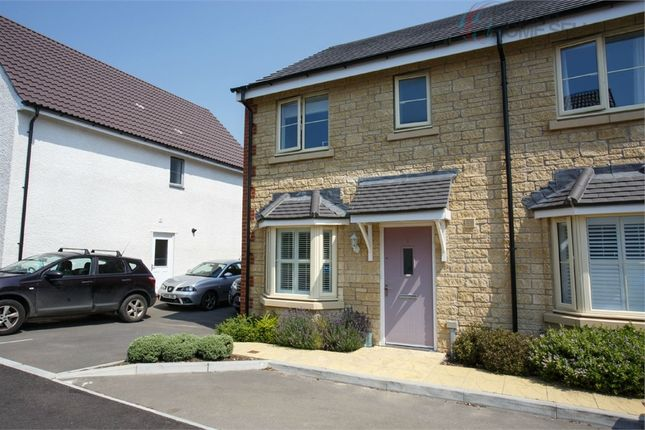 Thumbnail Terraced house for sale in Boundary Close, Kingswood, Wotton-Under-Edge, Gloucestershire