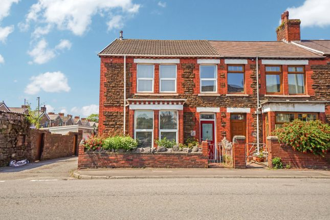 3 bed end terrace house for sale in Abbey Road, Port Talbot SA13