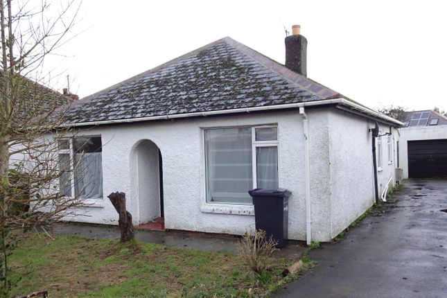 Thumbnail Detached bungalow to rent in Sandhurst Road, Yeovil