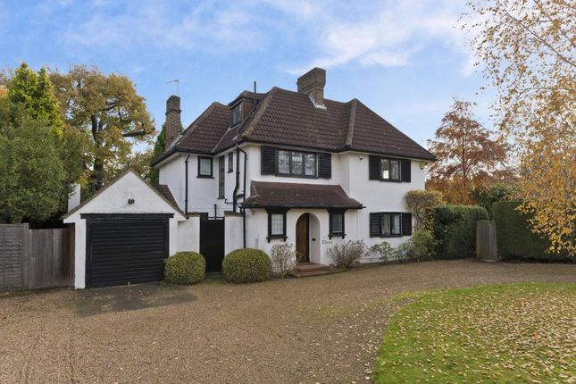 Thumbnail Detached house to rent in High Pine Close, Weybridge