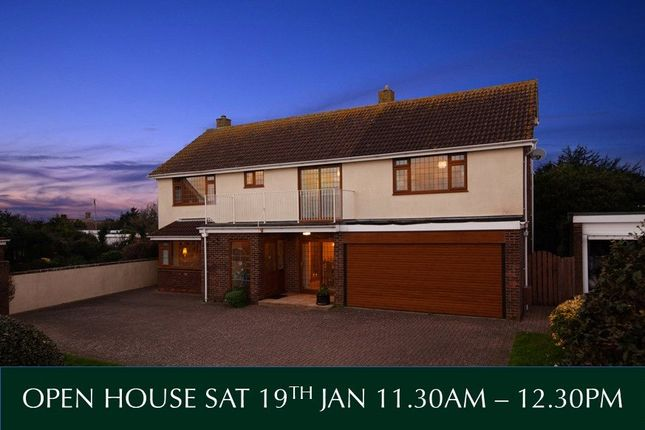 Thumbnail Detached house for sale in Foxholes Hill, Exmouth