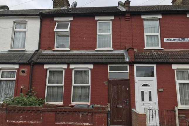 Thumbnail Terraced house for sale in Hanbury Road, Tottenham