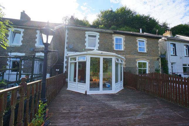 Thumbnail Semi-detached house for sale in Beech Terrace, Cwmcarn, Newport