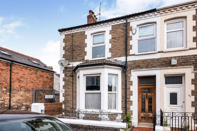 Thumbnail End terrace house for sale in Redlaver Street, Cardiff