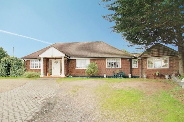 Thumbnail Detached bungalow for sale in Old House Lane, Roydon, Harlow
