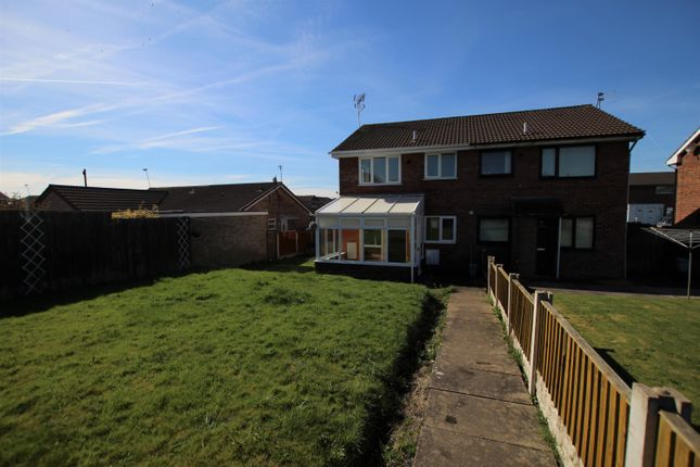 Thumbnail End terrace house to rent in Rampit Close, Haydock, St. Helens