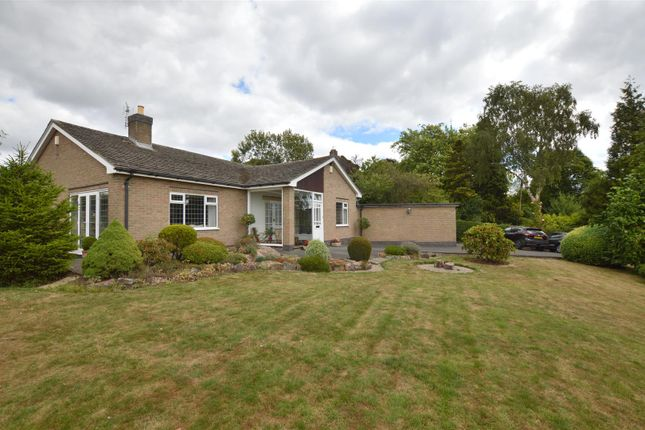Thumbnail Detached bungalow for sale in Church Road, Quarndon, Derby
