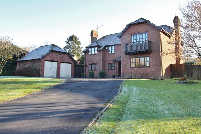Thumbnail Detached house for sale in Burnt Hill, Nr.Yattendon, West Berkshire