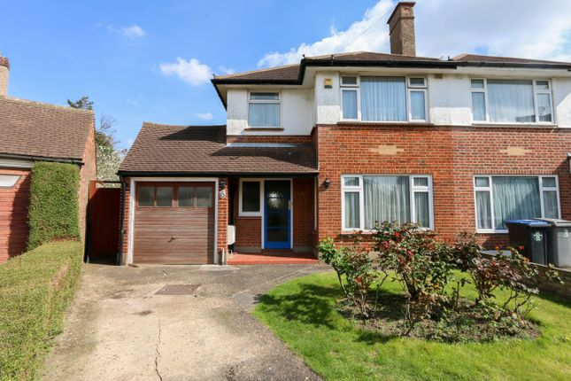Thumbnail Semi-detached house for sale in Calverley Gardens, Kenton, Harrow