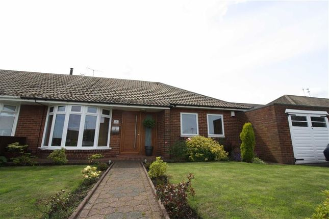 Thumbnail Semi-detached bungalow to rent in Sedbergh Road, North Shields