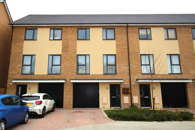 Thumbnail Terraced house to rent in St Johns Close, Peterborough