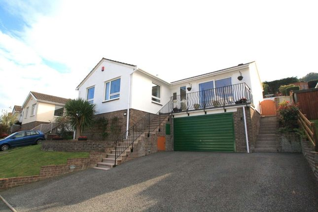Thumbnail Detached bungalow for sale in Reddicliff Close, Plymstock, Plymouth