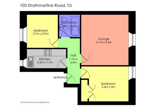 Strathmartine Road Dundee Dd3 2 Bedroom Flat To Rent
