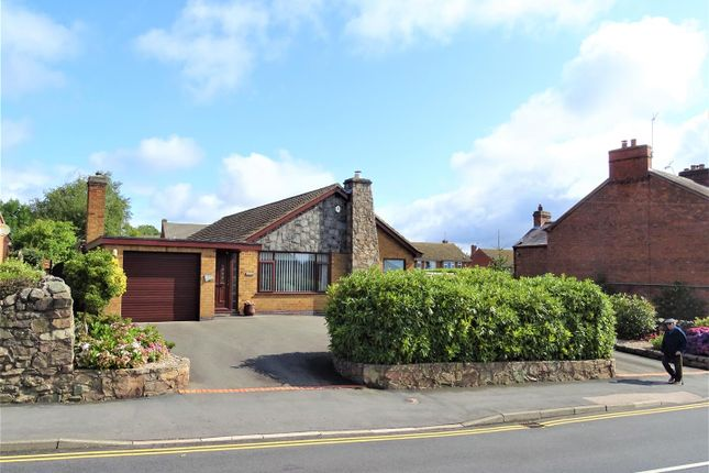 Thumbnail Detached bungalow for sale in London Road, Markfield
