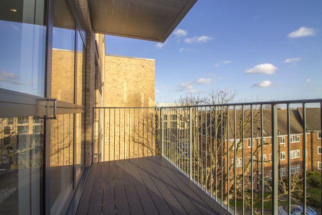 Balcony of Grove Court, Lyon Square, Harrow HA1
