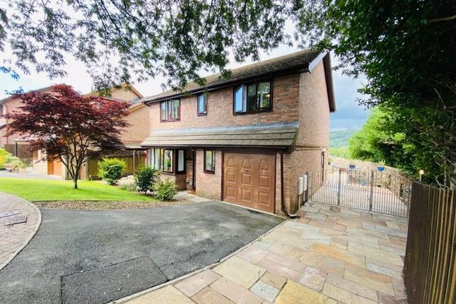 Thumbnail Detached house for sale in Clos Caegwenith, Tonna, Neath