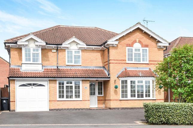 Thumbnail Detached house for sale in Gregorys Way, Belper