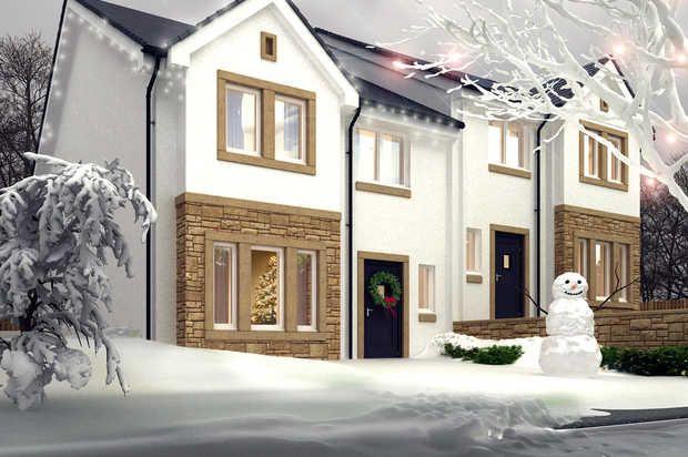Thumbnail Semi-detached house for sale in The Cedar Holmhead Gardens, Holmhead, Hospital Road, Cumnock