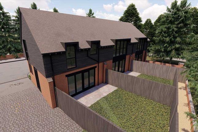 Thumbnail End terrace house for sale in Ringwood Road, Longham, Ferndown