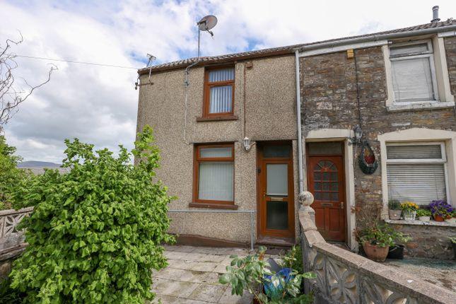 Thumbnail Semi-detached house for sale in Rear Of Six Bells, Farm Road, Heolgerrig, Merthyr Tydfil