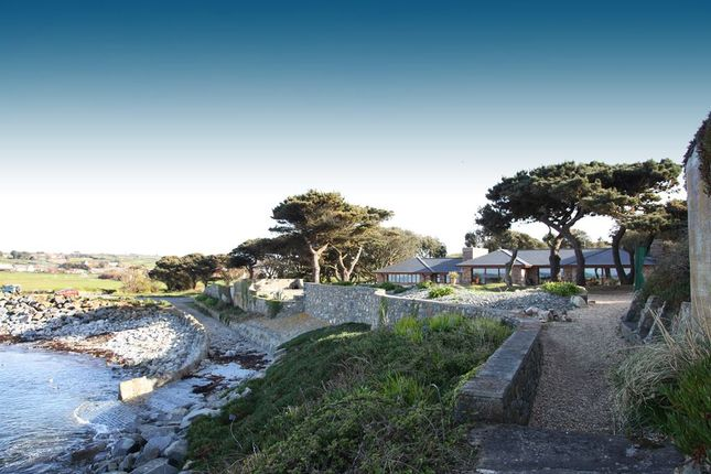 Thumbnail Detached bungalow for sale in L'eree Headland, St. Pierre Du Bois, Guernsey