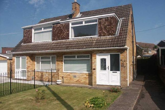 Thumbnail Semi-detached house to rent in Glannant Way, Cimla, Neath.