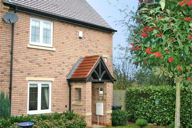Thumbnail End terrace house to rent in Ludham Place, Cawston, Rugby, Warwickshire