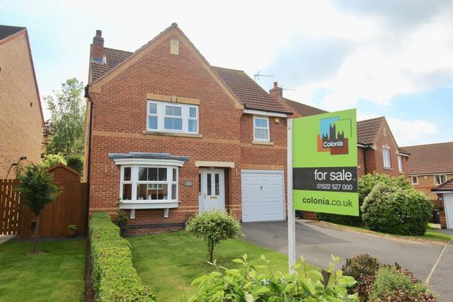 Thumbnail Detached house for sale in Berilldon Drive, St. Georges Park, Lincoln