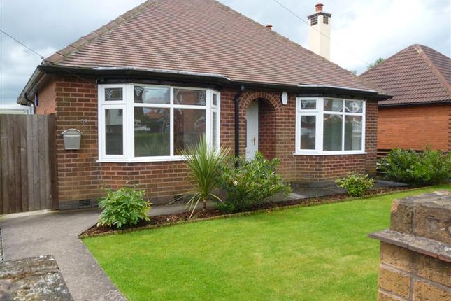 Thumbnail Detached bungalow to rent in Chestnut Avenue, Kirkby-In-Ashfield, Nottingham