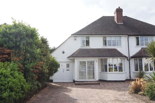 Thumbnail Semi-detached house for sale in The Boulevard, Wylde Green, Sutton Coldfield