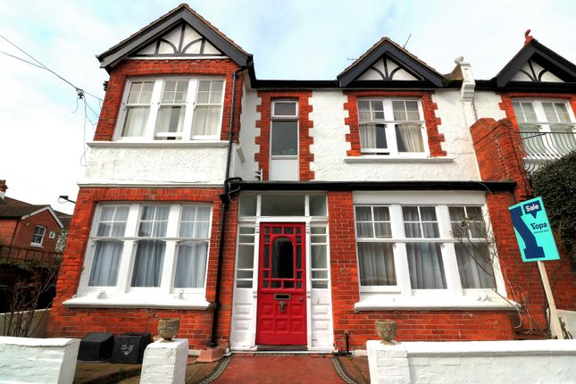 Thumbnail Semi-detached house for sale in Raphael Road, Hove
