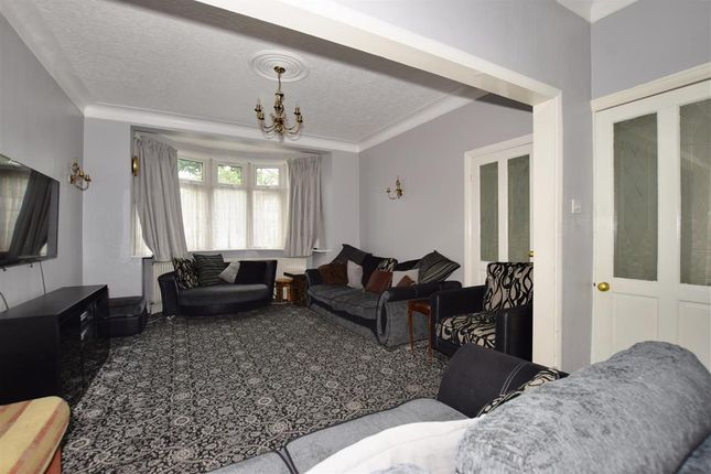 Lounge of Stradbroke Grove, Clayhall, Ilford, Essex IG5