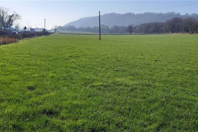 Thumbnail Land for sale in Pool Quay, Welshpool
