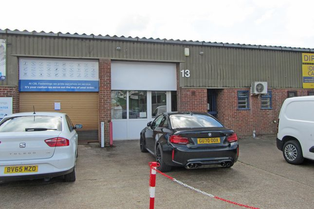 Thumbnail Light industrial to let in Unit 13 North Crescent, Diplocks Way, Hailsham
