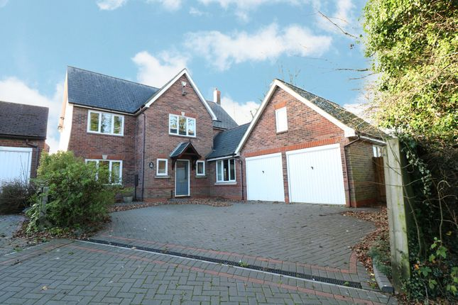 Thumbnail Detached house for sale in Tythe Barn Lane, Dickens Heath, Shirley, Solihull