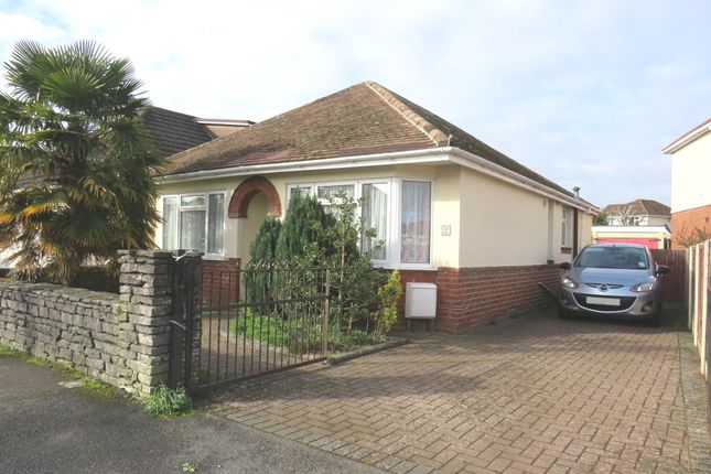 Thumbnail Detached bungalow for sale in Warwick Road, Totton, Southampton