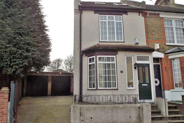 Thumbnail End terrace house for sale in Cecil Road, Rochester