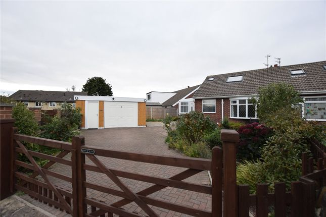 Thumbnail Semi-detached bungalow to rent in Smalewell Drive, Pudsey, West Yorkshire