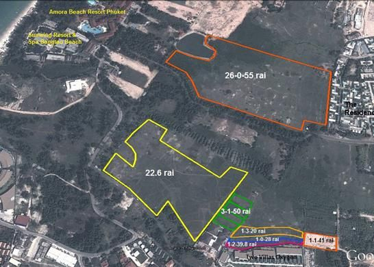 Thumbnail Land for sale in Bang Tao Beach, Phuket 83110, Thailand