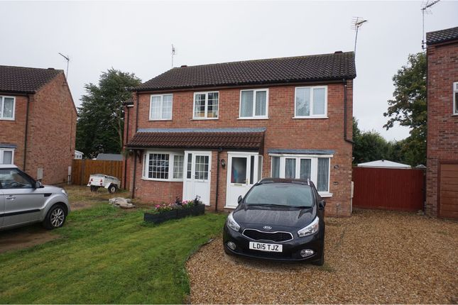 Thumbnail Semi-detached house to rent in Sandhurst Crescent, Sleaford